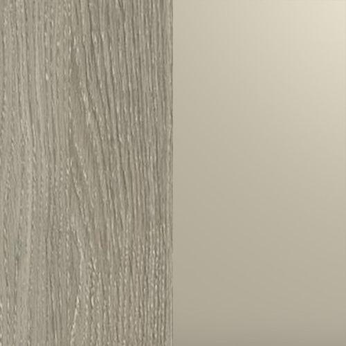 Ąžuolo latte (korpusas) / champagne metalic (ozdobne intarp. )