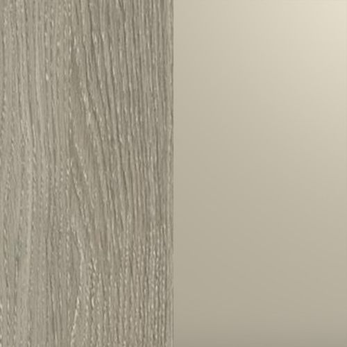 Ąžuolo latte (korpusas i priekis) / champagne metalic (ozdobne intarp. )