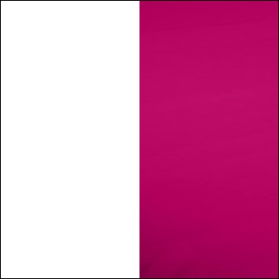 Balta / rožinė blizgi