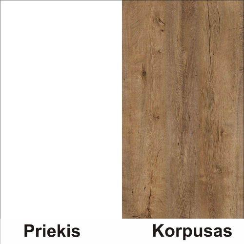 Balta (front)/lefkas (korpus)