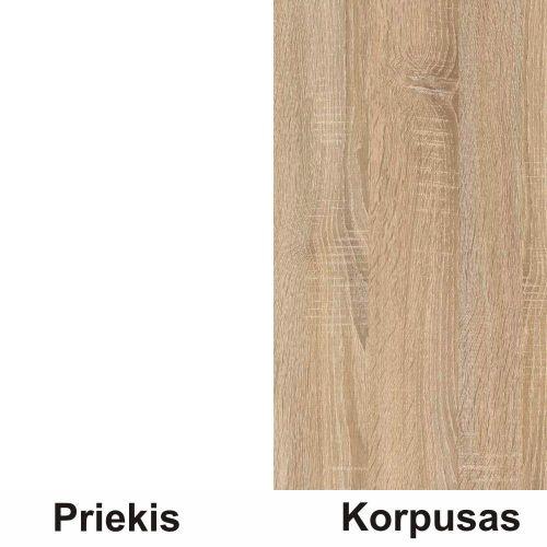 Balta (front)/sonoma (korpus)
