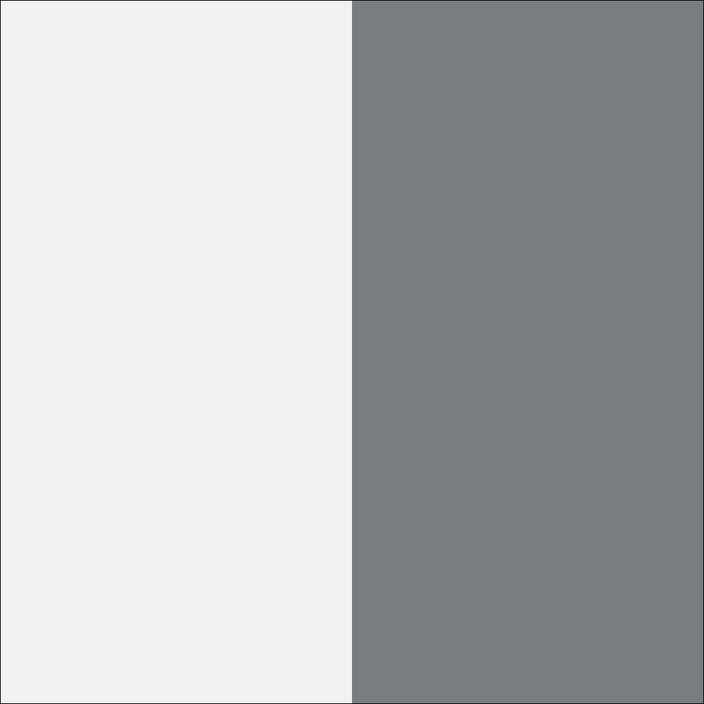 Balta mat (korpus)/balta blizgi/grafit (priekis)