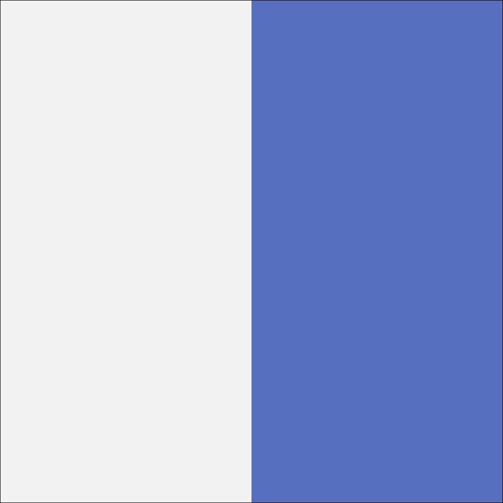 Balta mat (korpus)/balta blizgi/žydra (priekis)
