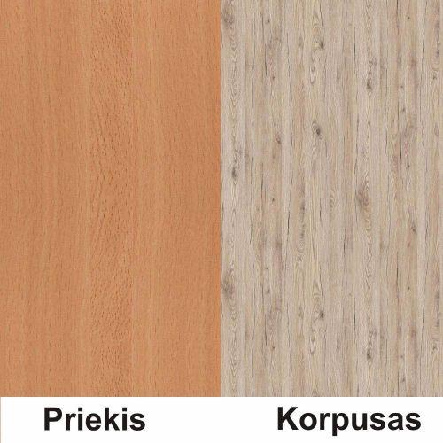 Bukas (front)/bordeux (korpus)