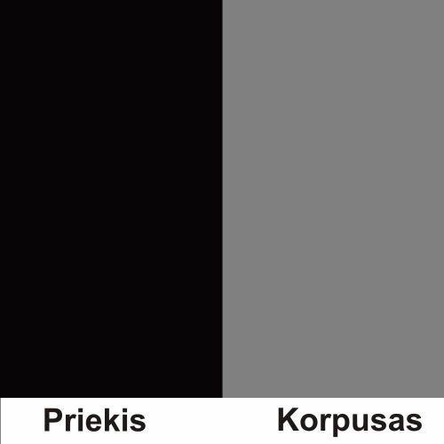 Juoda (Front)/Pilka (Korpus)