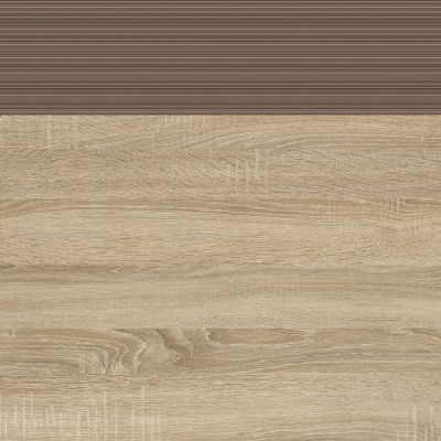 Korpusas ir priekis ąžuolas sonoma/ruda