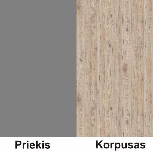 Pilka (front)/bordeux (korpus)