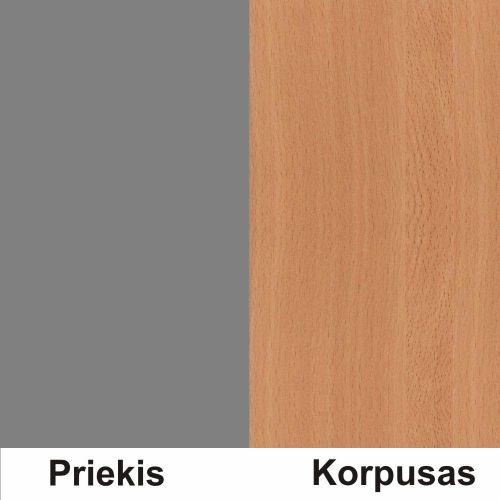 Pilka (front)/bukas (korpus)