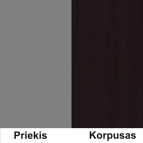 Pilka (front)/wenge (korpus)
