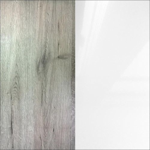 R3285ru ąžuolas vellington/balta blizgi