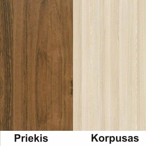 Riešutas (front)/akacja (korpus)