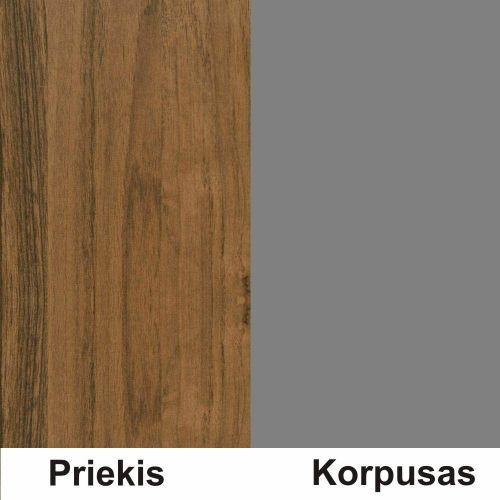 Riešutas (front)/pilka (korpus)