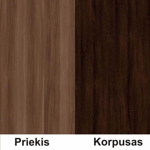 Slyva (front)/sonoma šokolado (korpus)