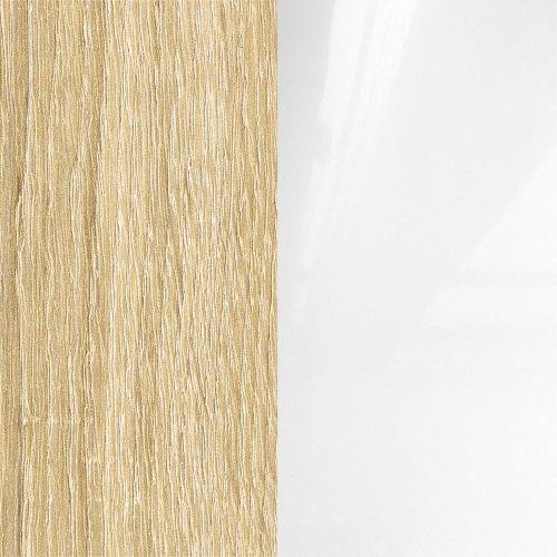 Sonoma ąžuolas laminat/balta blizgi (22fayr)