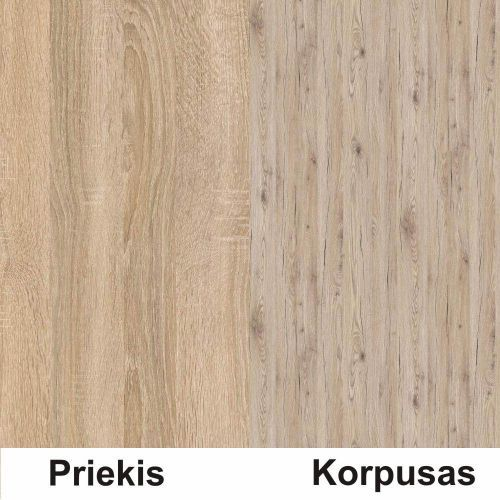 Sonoma (front)/bordeux (korpus)