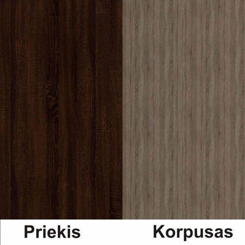 Sonoma šokolado (front)/trufla (korpus)