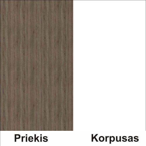 Trufla (front)/balta (korpus)