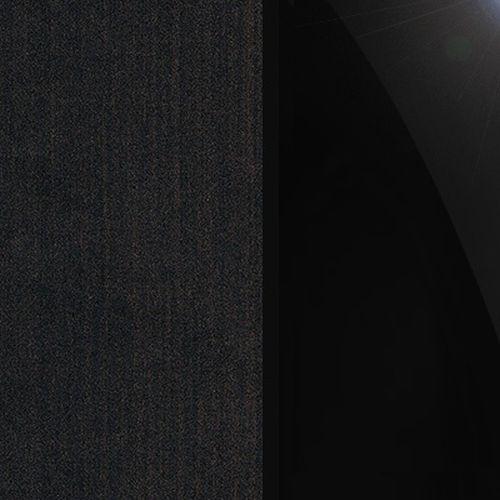 Vengė laminat / juodas stiklas (22xtrt)