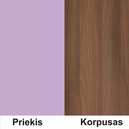 Violetine (front)/cynamon (korpus)