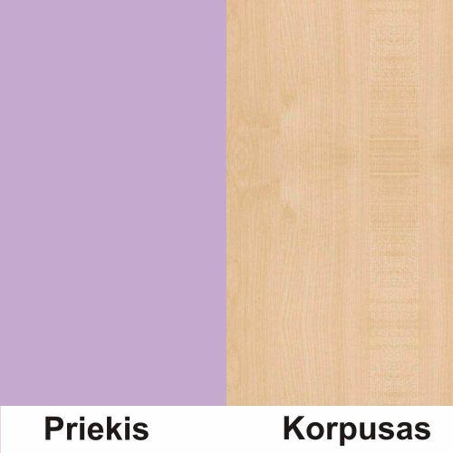 Violetine (front)/klevas (korpus)