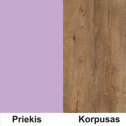 Violetine (front)/lefkas (korpus)