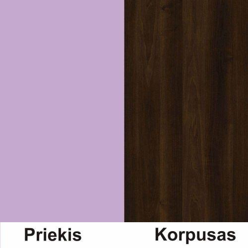 Violetine (front)/riešutas (korpus)