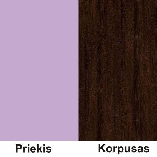 Violetine (front)/sonoma šokolado (korpus)