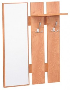 Rūbų kabykla su veidrodžiu GS132741