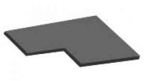 90 cm spintelės lentyna D12 90