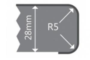 Stalviršis GS134997 100 cm