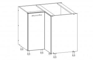 80 cm pastatoma spintelė T26/D90NW