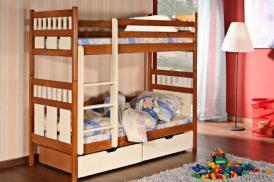 Vaikų kambario dviaukštės lovos