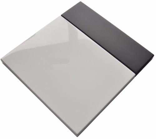 Balta blizgi/grafit mat