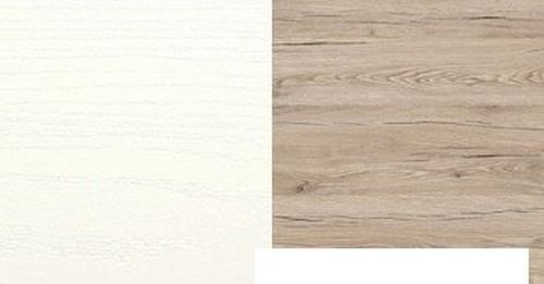 Balta Struktura/Ąžuolas Bordeaux R4414