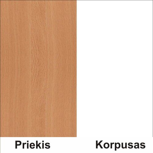 Bukas (front)/balta (korpus)
