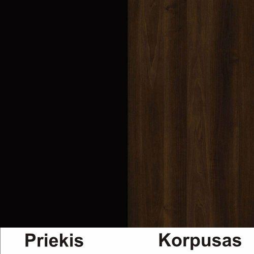 Juoda (Front)/Riešutas (Korpus)