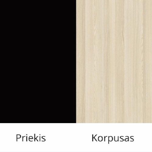 Juoda (front)/akacja (korpus)