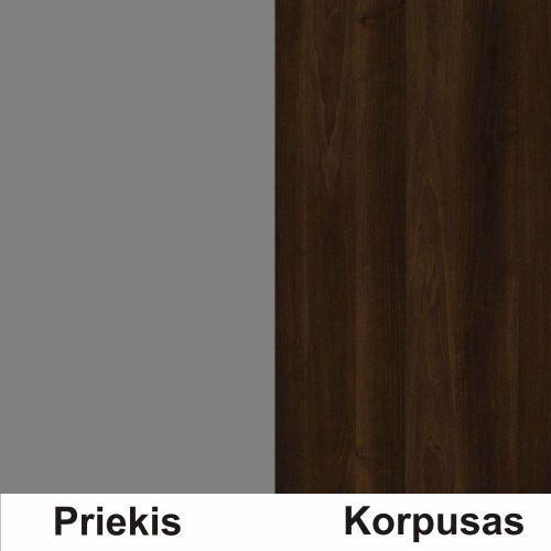 Pilka (front)/riešutas (korpus)
