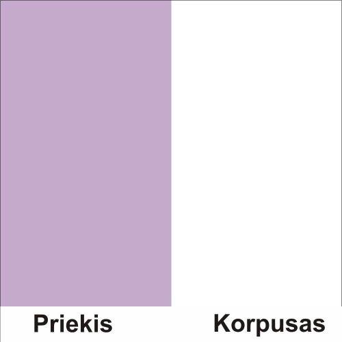 Violetine (Front)/Balta (Korpus)