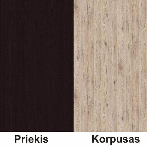 Wenge (front)/bordeux (korpus)