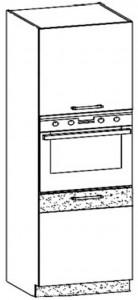 60 cm pastatoma spintelė orkaitei