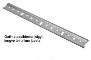 60 cm pakabinama spintelė 72 cm W12 60 #9