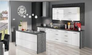 Virtuvės komplektas 240 cm KB100060