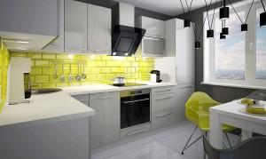 Virtuvės komplektas 240 cm KB100060 #21